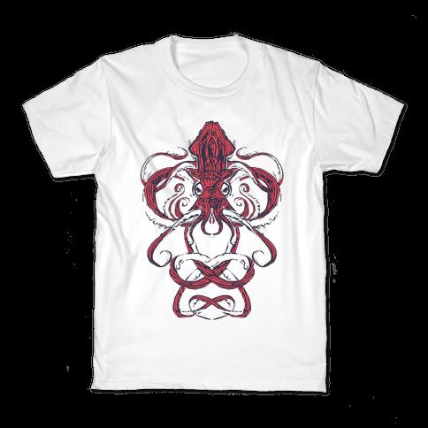 Kraken Tangle Kids T-Shirt