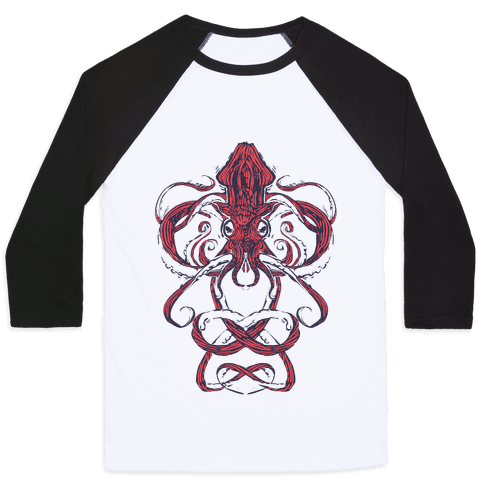 Kraken Tangle Baseball Tee