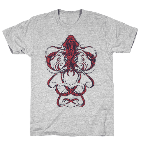Kraken Tangle Mens T-Shirt