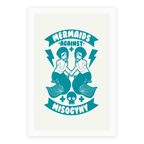 Mermaids Against Misogyny Poster
