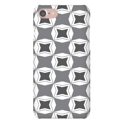 Checker Pattern Case Phone Case