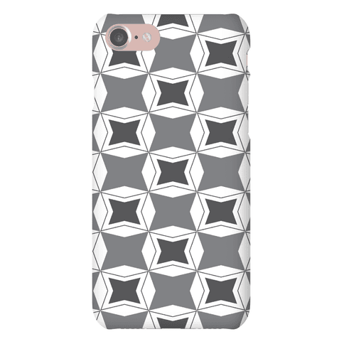 Checker Pattern Case Phone Case