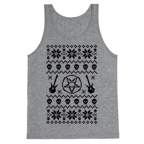 Ugly Sweater Heavy Metal Tank Top