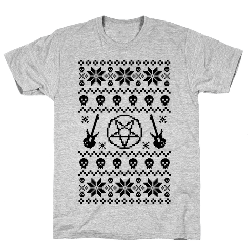 Ugly Sweater Heavy Metal Mens T-Shirt