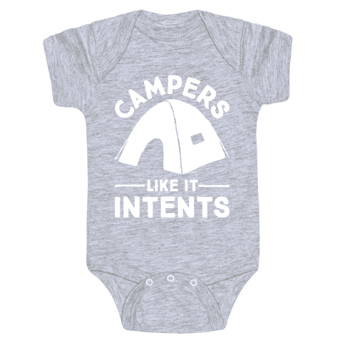 Campers Like It Intents Baby Onesy