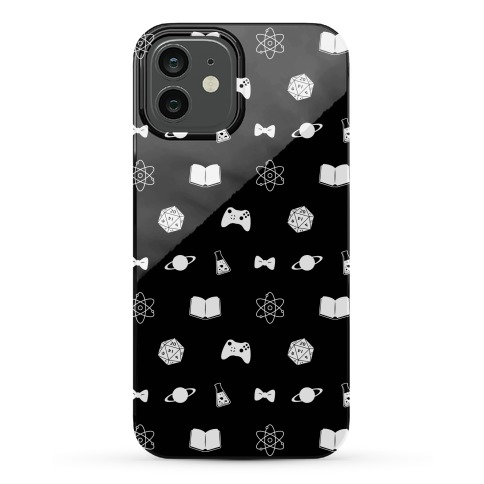 The Ultimate Nerd Pattern Phone Case