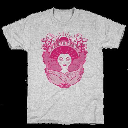 Geisha Garden Mens T-Shirt