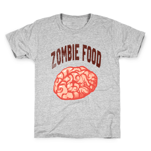 Zombie Food Kids T-Shirt