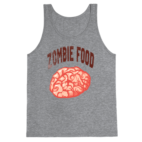 Zombie Food Tank Top