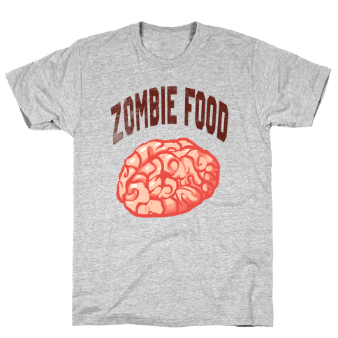 Zombie Food Mens T-Shirt
