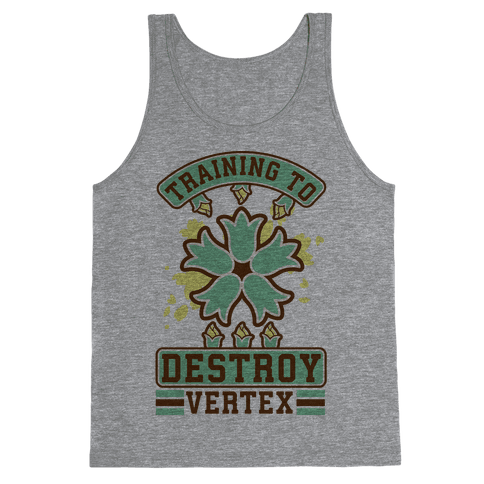 Training to Destroy Vertex Itsuki Tank Top