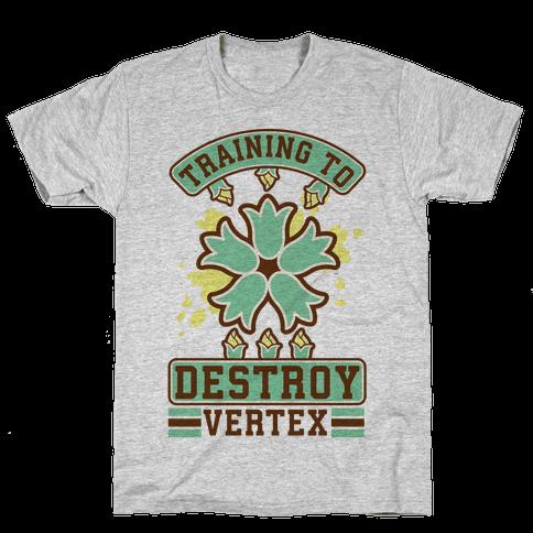 Training to Destroy Vertex Itsuki Mens T-Shirt