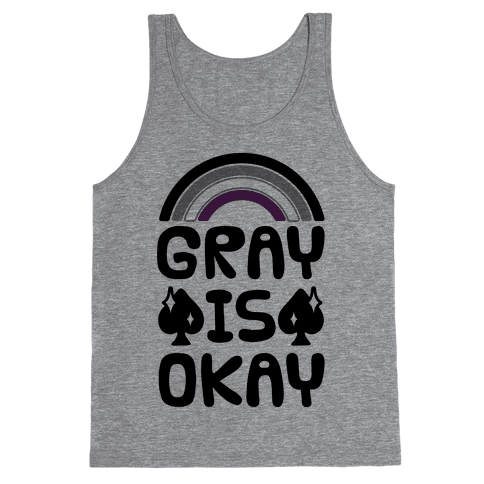 Gray Is Okay Tank Top