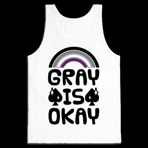 Gray Is Okay Tank Top