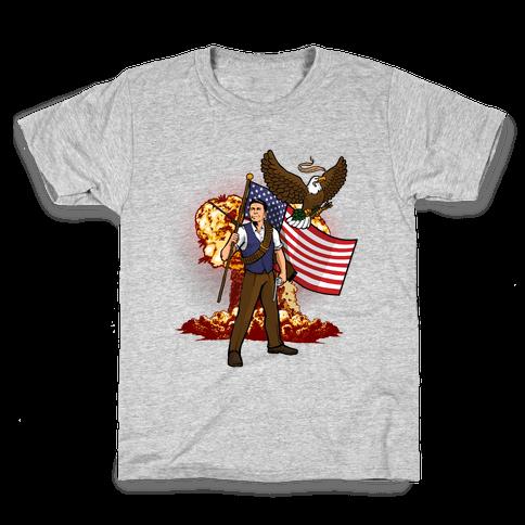 Total Reaganation Kids T-Shirt