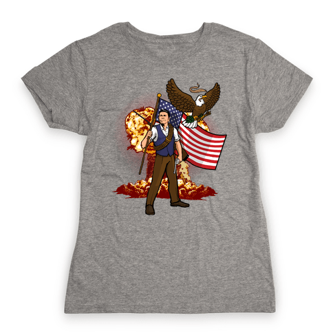 Total Reaganation Womens T-Shirt