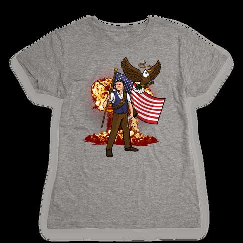 Total Reaganation Womens T-Shirt