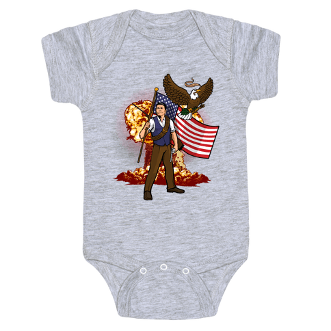 Total Reaganation Baby Onesy