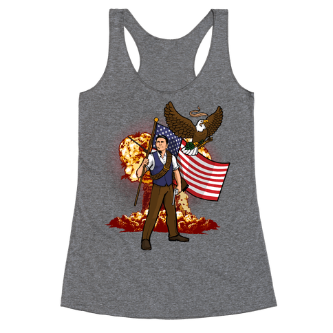 Total Reaganation Racerback Tank Top