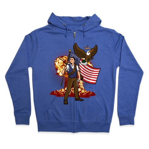 Total Reaganation Zip Hoodie