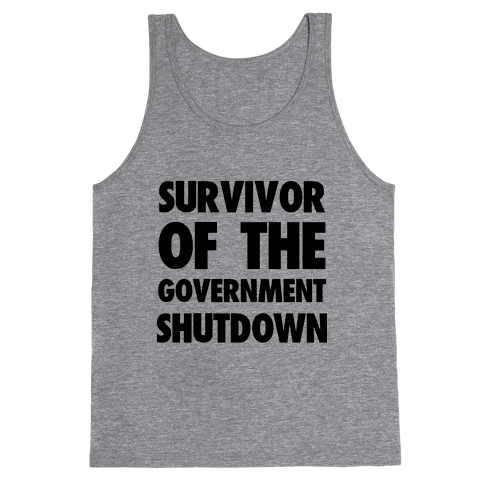 Survivor of the Government Tank Top