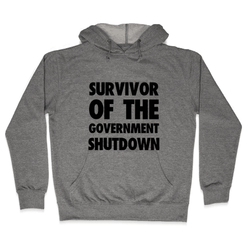 Survivor of the Government Hooded Sweatshirt