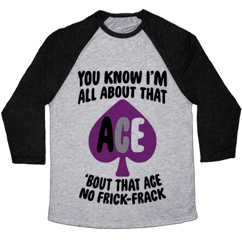 All About That Ace Baseball Tee