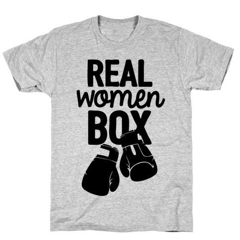 Real Women Box T-Shirt