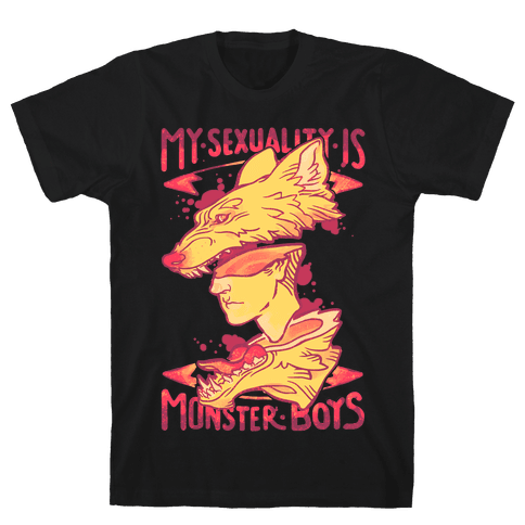 My Sexuality Is Monster Boys Mens T-Shirt