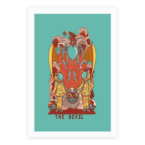 The Devil in Space Poster