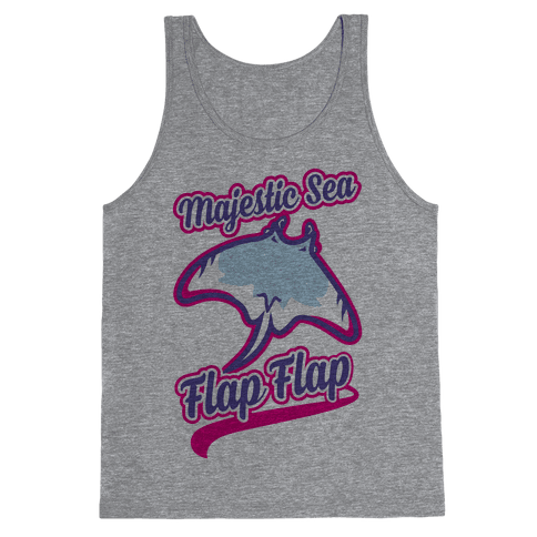 Majestic Sea Flap Flap Tank Top