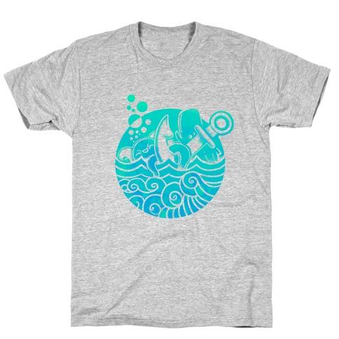 Aqua Friends, Octopus & Whale T-Shirt