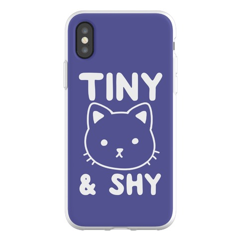 Tiny & Shy Cat Phone Flexi-Case