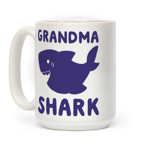 Grandma Shark Coffee Mug