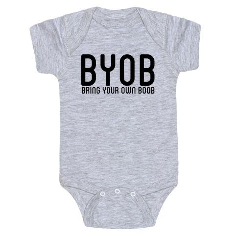 BYOB Baby Onesy