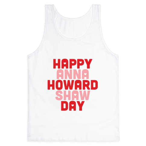 Anna Howard Shaw Day Tank Top
