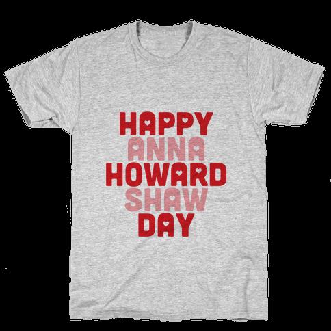 Anna Howard Shaw Day Mens T-Shirt