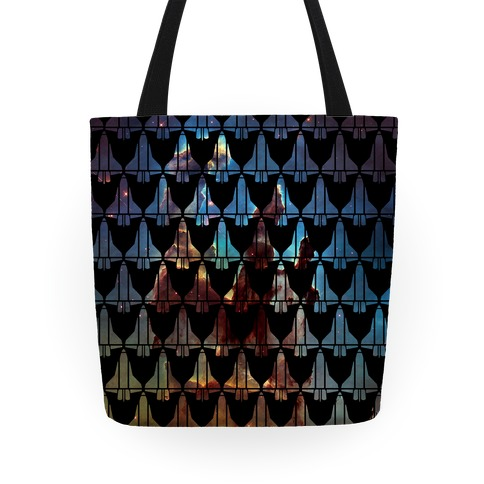 Eagle Nebula Space Race Pattern Tote