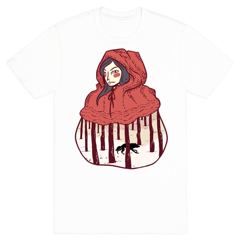 Little Red Mens T-Shirt