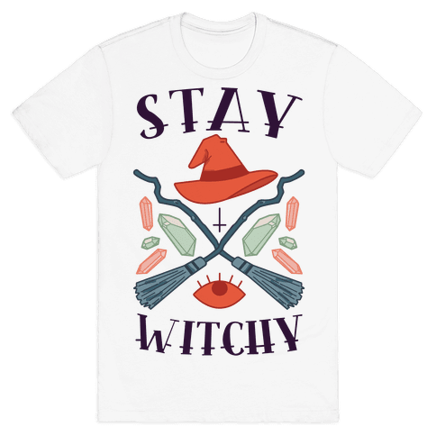Stay Witchy Mens T-Shirt