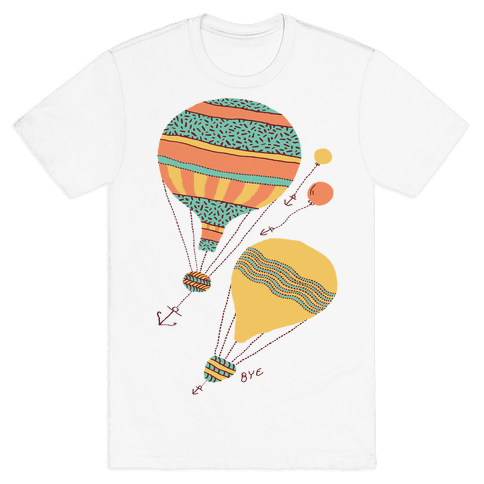Balloon Flight Mens T-Shirt