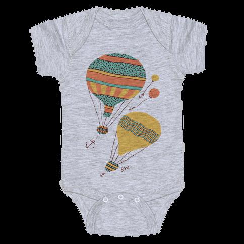 Balloon Flight Baby Onesy