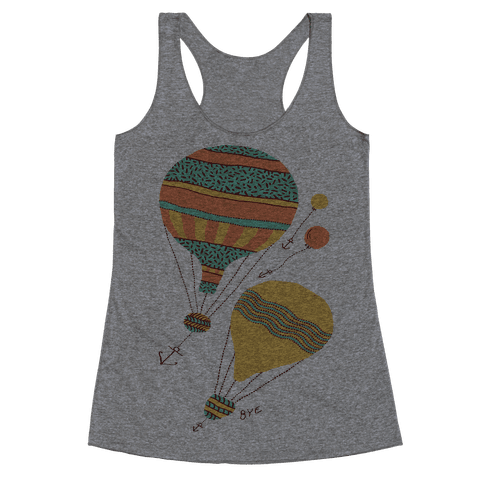 Balloon Flight Racerback Tank Top