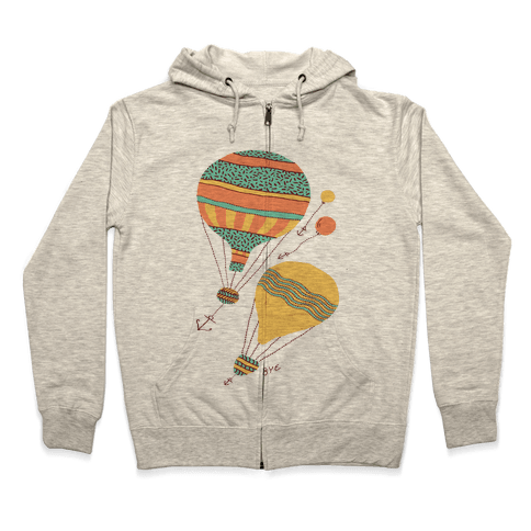 Balloon Flight Zip Hoodie