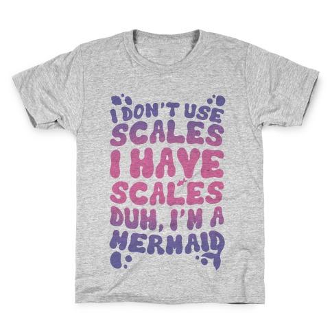 Mermaid Scales Kids T-Shirt