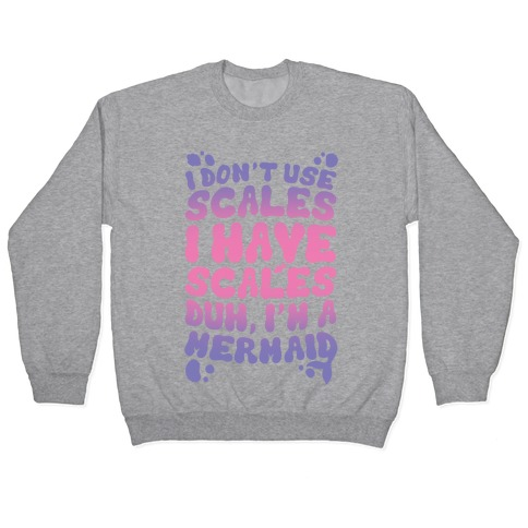 Mermaid Scales Pullover