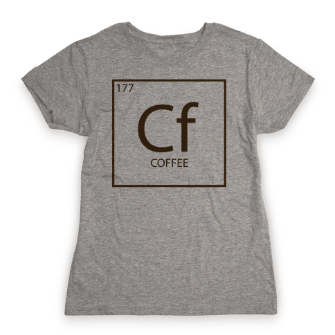 Coffee Science Womens T-Shirt