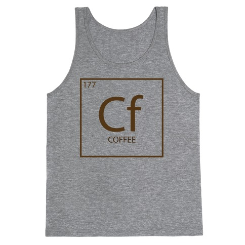 Coffee Science Tank Top