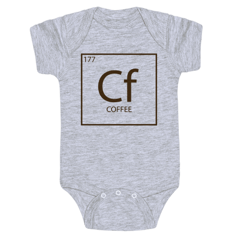 Coffee Science Baby Onesy