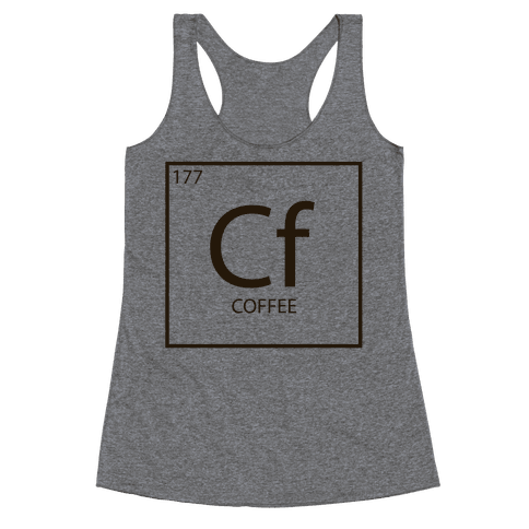 Coffee Science Racerback Tank Top